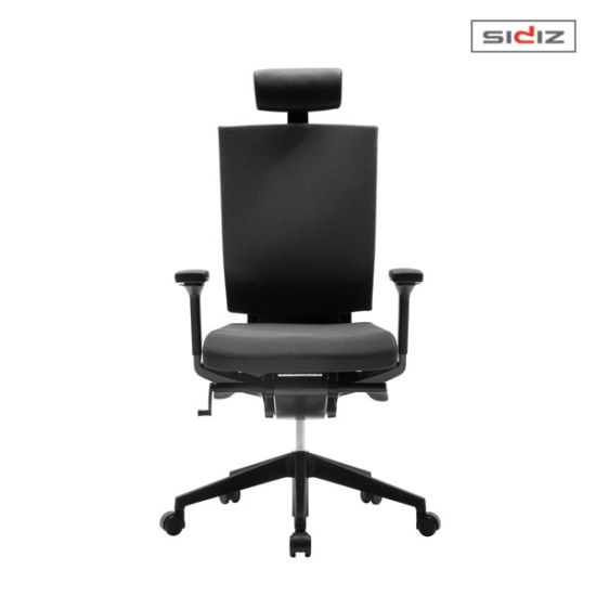 [하프클럽/시디즈] T55 블랙에디션 더블라셀 의자 -P302030782
